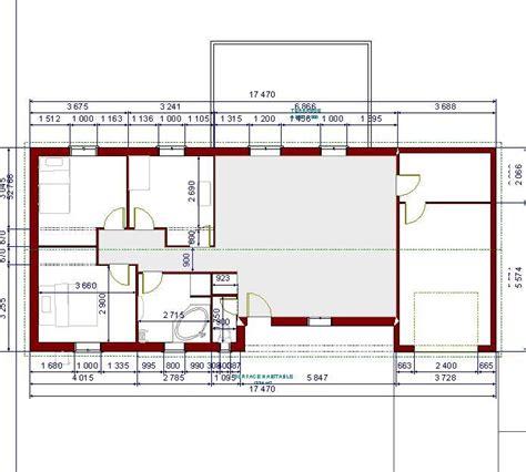 plan maison cuisine ouverte plan maison comment agencer la cuisine 63 messages