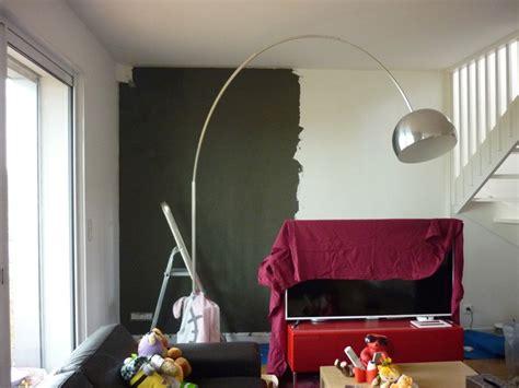 beton cire deco m6 mur beton cire salon maison design homedian