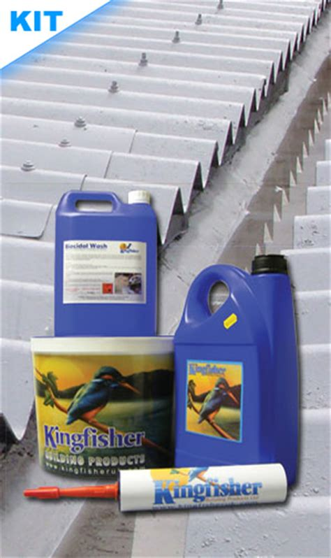 asbestos garage roof coating kit kingfisher roof coatings