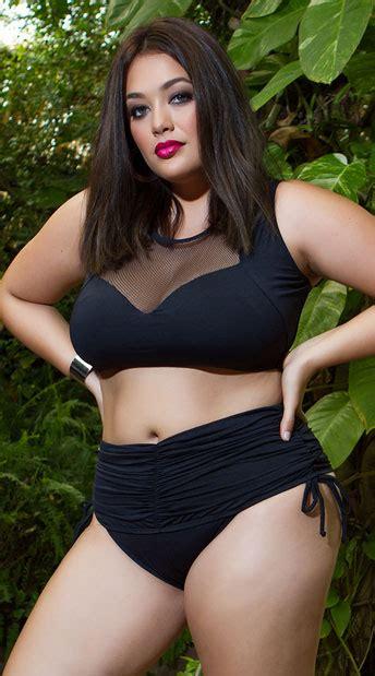 Yandy Plus Size Ruched Perfection Bikini Bottom, Plus Size ...