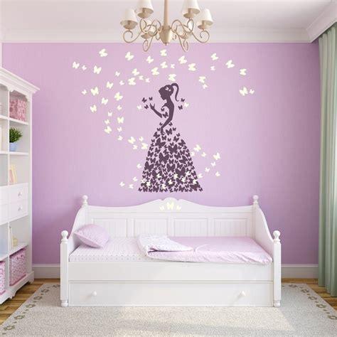 Kinderzimmer Deko Feen by Wandtattoo Prinzessin Schmetterlinge Deko F 252 R Ein