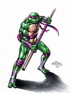 TMNT Donatello color by MatiasSoto on DeviantArt