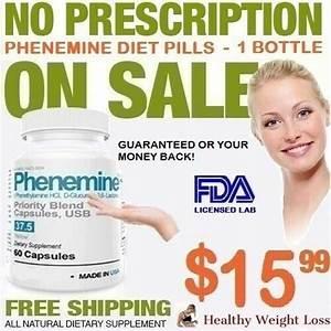 1 Phenemine Best Fast Weight Loss Suppress Appetite Suppressant Diet Pills 37 5