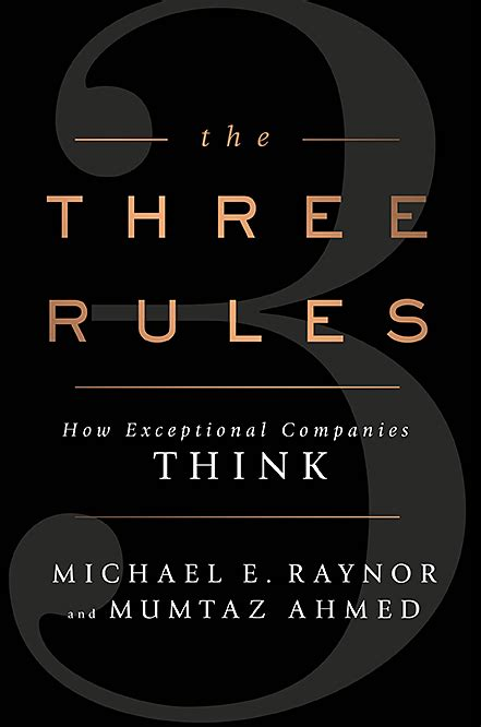 Risk Management  Three Rules For Exceptional Companies