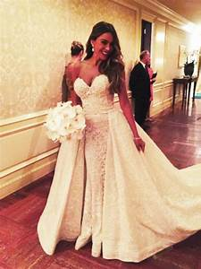 sofia vergara the most beautiful celebrity wedding With wedding dress instagram