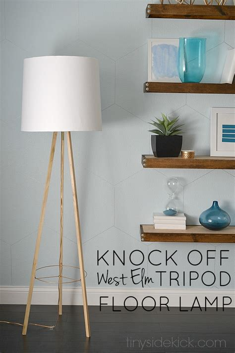 floor l west elm west elm inspired tripod floor l knock off decor series