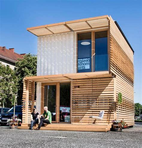 Erstaunlich Wohnen Im Container Haus Containme4 Graz
