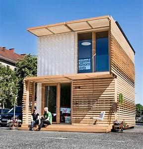 Container Haus Bauen : erstaunlich wohnen im container haus containme4 graz ~ Michelbontemps.com Haus und Dekorationen