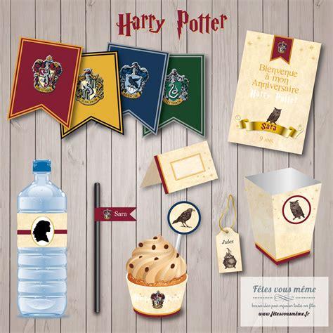 kit deco harry potter kit anniversaire harry potter