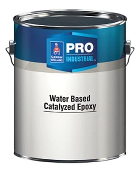 Sherwin Williams Water Based Epoxy Floor Coating by Pro Industrial Water Based Catalyzed Epoxy Architects