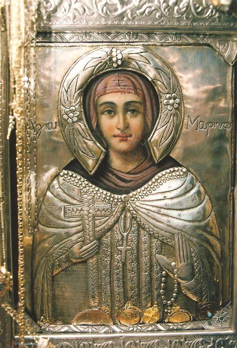 Η αγία μαρίνα η παρθενομάρτυς γεννήθηκε το 258 μχ, καταγόταν από ένα χωριό της πιανιδείας (ή πισσιδείας) και έζησε στα χρόνια που αυτοκράτορας ήταν ο κλαύδιος. ΕΡΑΤΕΙΝΟ: ΑΓΙΑ ΜΑΡΙΝΑ