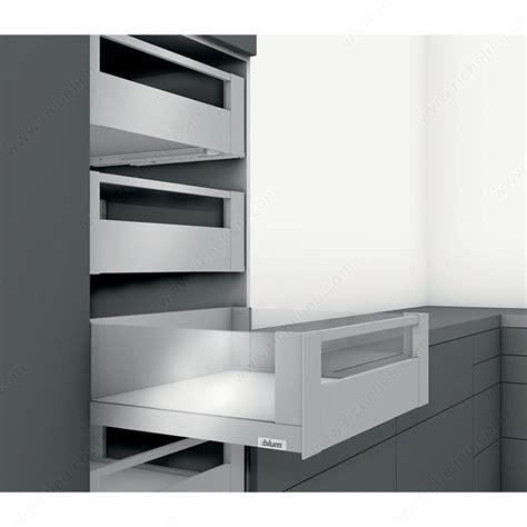 coulisse tiroir grande longueur tiroir 224 l anglaise hauteur c bandeau avant avec quincaillerie richelieu