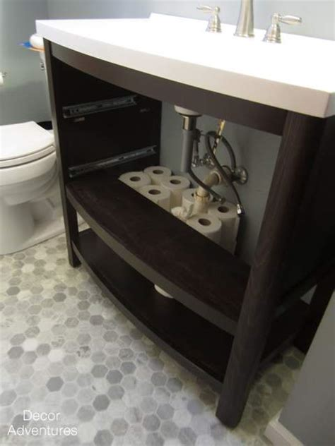 installing new bathroom vanity top