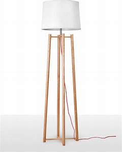 Contemperary tall quadripod floor lamp for living room for Tall lantern floor lamp
