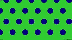 Wallpaper blue green polka dots hexagon #32cd32 #000080 ...