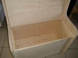 Coffre Jouet Bois : phil creation coffre en bois ~ Teatrodelosmanantiales.com Idées de Décoration