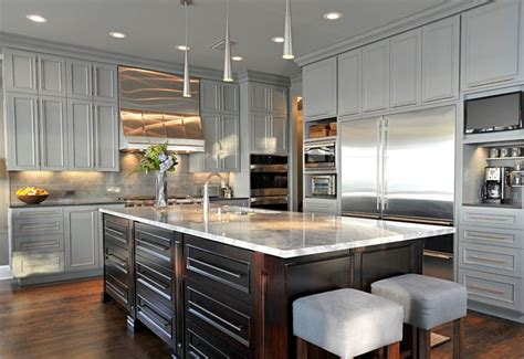 espresso colored kitchen cabinets grey kitchen fashion for the house 7076