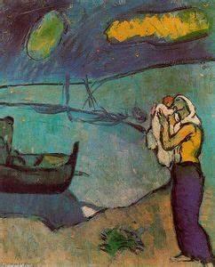 5ZKH5R Pablo Picasso madre e figlio
