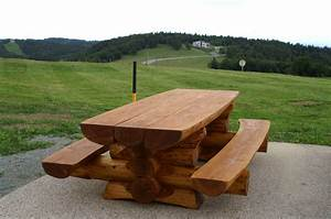 Table Et Banc De Jardin : table banc ~ Teatrodelosmanantiales.com Idées de Décoration