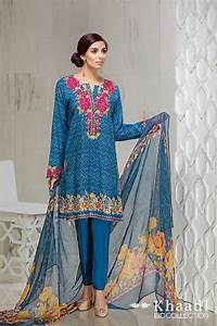 Khaadi Eid ul Fitr Lawn dresses Collection 2016 2017 ...