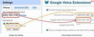 Google Voice Extensions