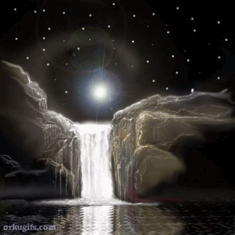 mystic waterfall images  messages