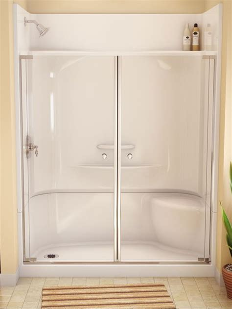 Bathroom Shower Enclosures With Seat by Best 25 Shower Stalls Ideas On Shower Seat