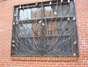 Decorative Security Bars For Residential Windows by Unique Window Grill Designs Ideas For Home Decor