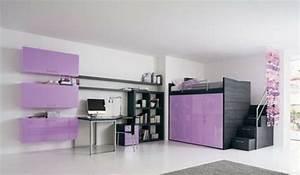 Hochbett Mit Schrank Drunter : jugendzimmer mit hochbett 90 raumideen f r teenagers ~ Sanjose-hotels-ca.com Haus und Dekorationen