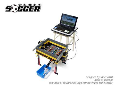 auto scoring mini lego foosball table gadgetsin