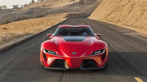 Some of The Fastest Cars From Toyota