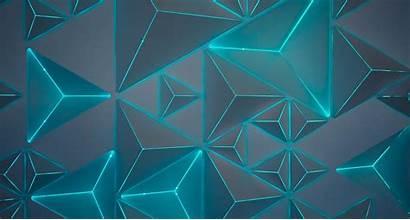 Geometric Wallpapers Neon Triangles Ipad