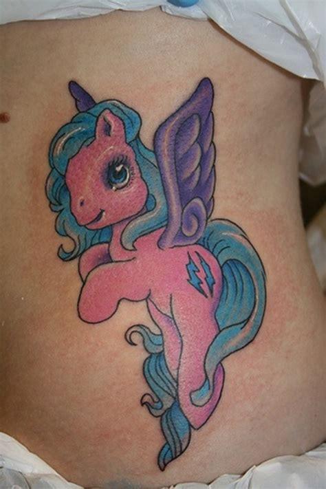 beautiful  pony tattoos