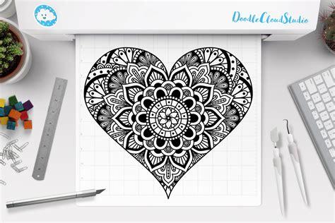 Get the free layered svg file below. Layered Valentine Mandala Svg Ideas - Layered SVG Cut File ...