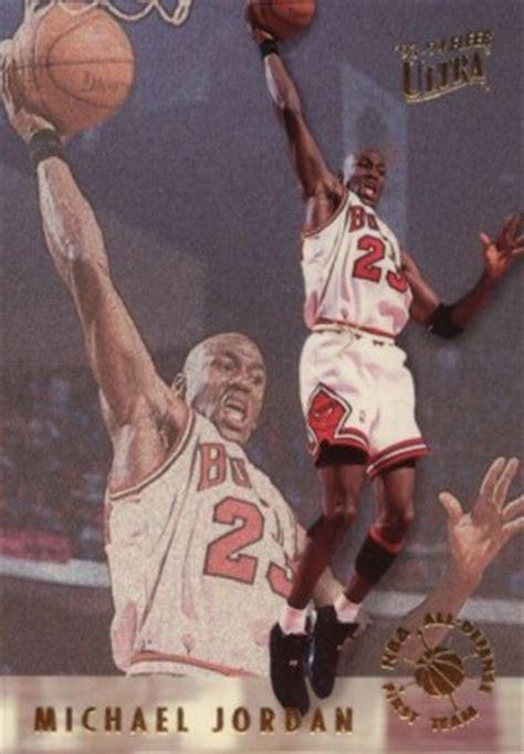 ultra  defensive team michael jordan  basketball