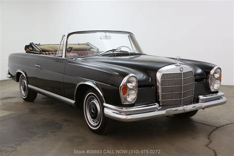 The car is in perfect condition overall and is ready to drive. 1964 Mercedes-Benz 220SE Cabriolet | Beverly Hills Car Club