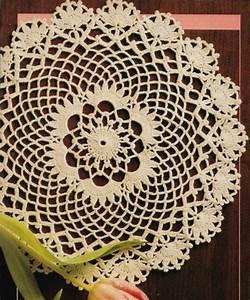 Glorious Doily 11 U0026quot  Diameter Home Decor Crochet Pattern