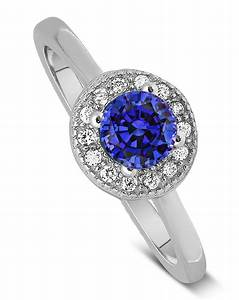 unique 150 carat halo sapphire and diamond engagement With unique sapphire wedding rings