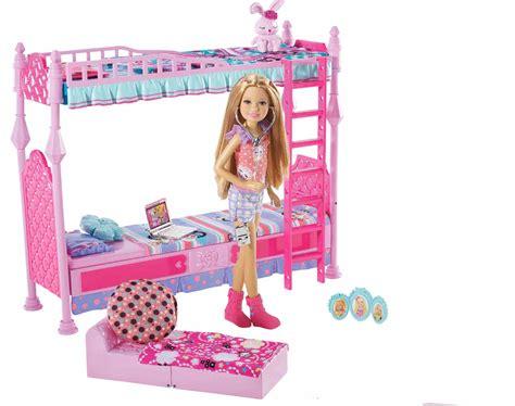 barbie sisters sleeptime bedroom   furniture