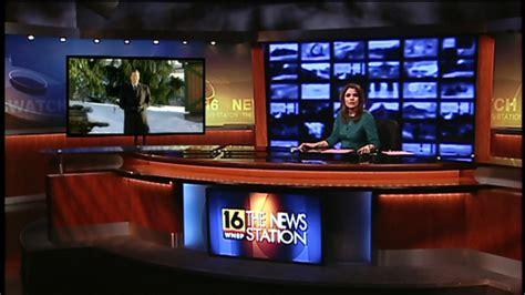 wnep tv unveils  home newscaststudio