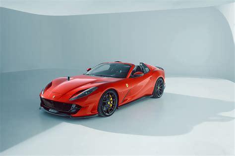 Запчасти на ferrari 812 gts. Novitec gives Ferrari 812 GTS a sportier look