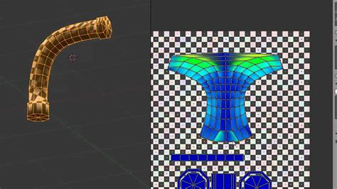 Blender Uv Unwrapping A Curved Mesh Youtube