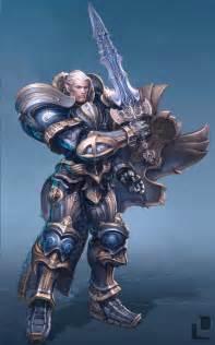 Sci-Fi Armor Concept Art Angel