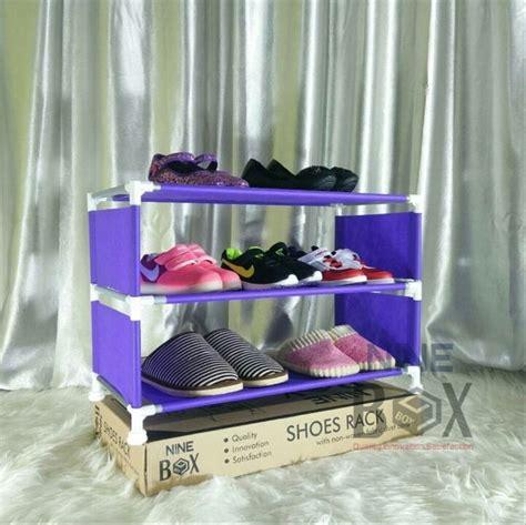 Harga Rak Sepatu Susun 3 jual rak sepatu 3 susun rak sepatu minimalis rak sepatu