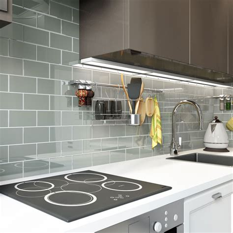 grey backsplash tile glass subway tile true gray 3 quot x 6 quot subway 1481