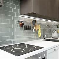 "glass backsplash tiles Glass Subway Tile (True Gray) - 3"" x 6"" Piece - Subway ..."