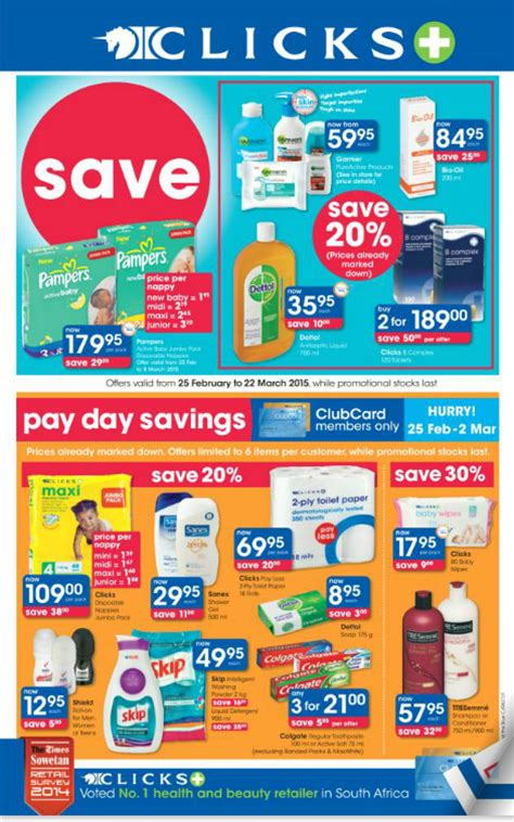 clicks  save specials feb    mar
