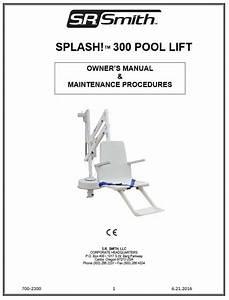 Splash  Round Post Pool Lift
