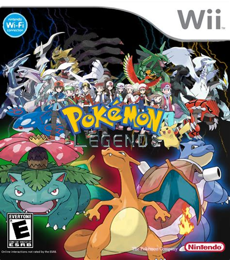 Pokemon Legends Cover By Leehatake93 On Deviantart