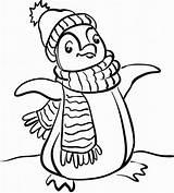 Coloring Pages Penguin Printables Popular Penguins sketch template